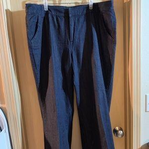 a.n.a wide leg trouser jeans.